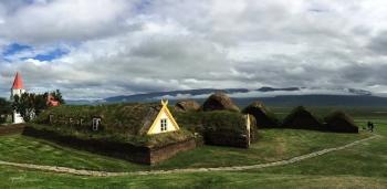 PANORAMICA GRANJA GLAUMBAER– NORD D'ISLANDIA