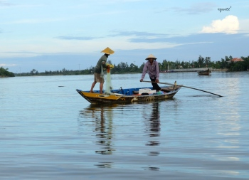 PESCA ARTESANAL RIU THO BON - HOI AN - VIETNAM