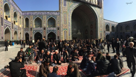 VISITA AL COMPLEX DEL SANTUARI DE L'IMAM REZA – MASHAD - IRAN