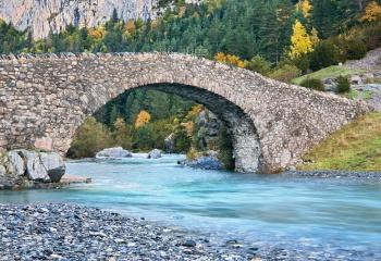 Puente de San Nicolas de Bujaruelo.