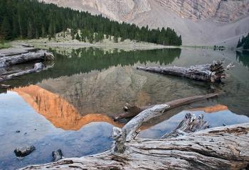 Ibón de la Basa Mora - Pirineos