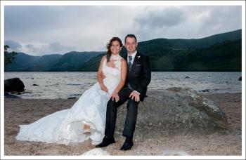 """Playa """"los enanos"""", Lago de Sanabria"""