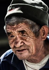 Old Man in Khumjung
