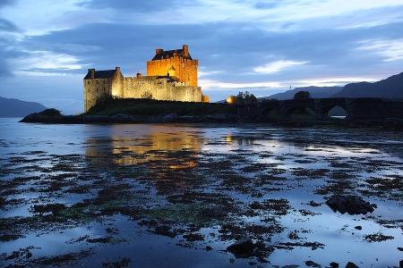 Eilean Donan Castle, Skye Isle Scothland