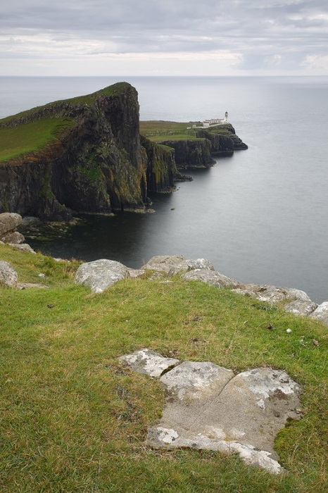 Neist Point Lighthouse, Skye Isle Scothland