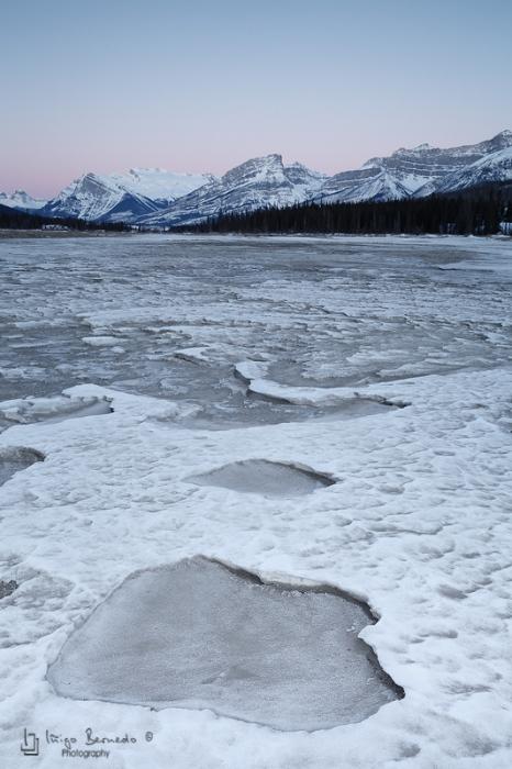 North Saskatchewan River and the Mount Wilson overlook
