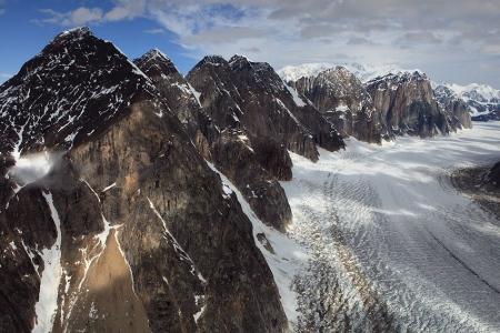 Ruth Glacier, Alaska Range