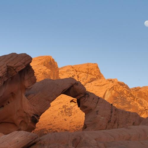 de arena y roca