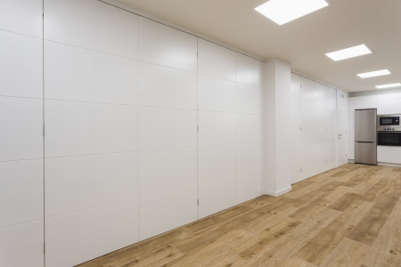 sala multiusos, fotografía de interiores, redondela, galicia