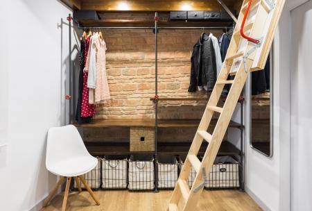 vestidor, fotografía interiorismo, arela arquitectura, galicia