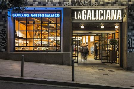 fotografía de interiores, La Galiciana, fachada