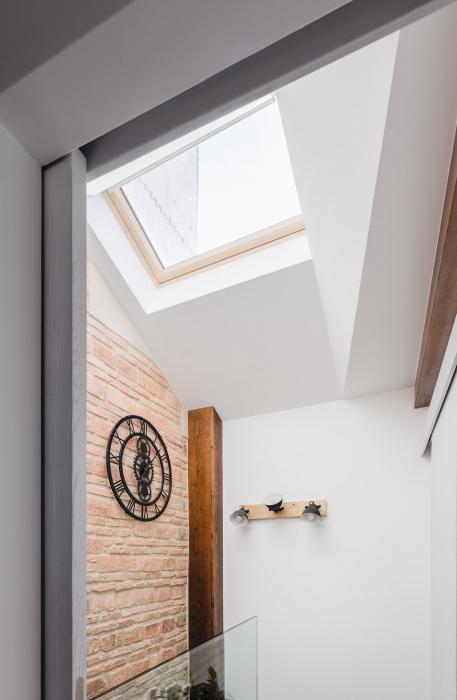 lucernario, fotografía interiorismo, arela arquitectura, galicia