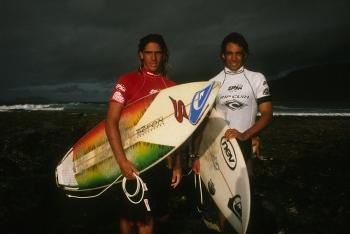 José Mª Cabrera y Jonathan Glez. San Juan. Lanzarote