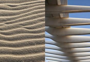 Sahara fotografias de Lara Bisbe perteneciente a la serie Universos