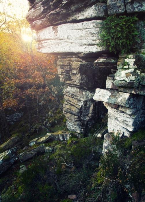 El portal de piedra