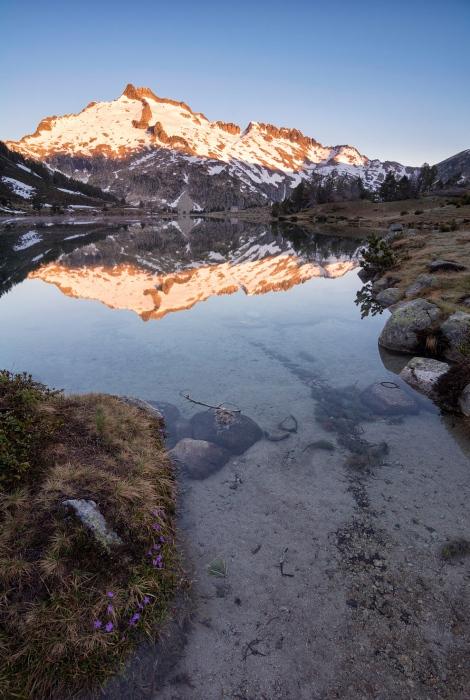 Reflejos de granito y nieve, Neuvielle