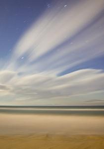 Fotografía Nocturna, playas de L'Aluet.Imagen David Pérez Hens