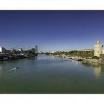 Sevilla y el Guadalquivir.