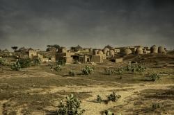 Aldea Hausa, Níger