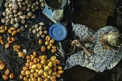 Mercado de Mopti, Malí.