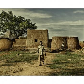 El pueblo Gurunsi.