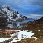 Traveling around Lofoten
