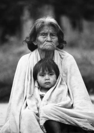Mujer Chulupie y niño. Filadelfia
