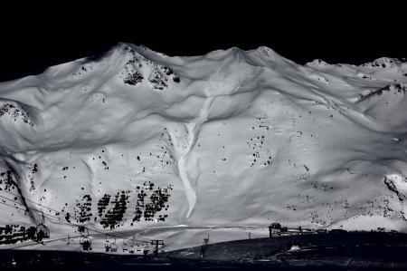 Avalancha en el Belonseiche