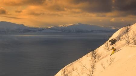 Lyngen Alps, Ricardo Diaz