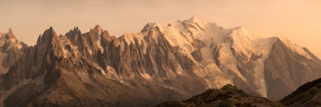 Mont Blanc y Aiguilles de Chamonix