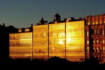 Golden glass houses | 2007 | A Coruña, Spain