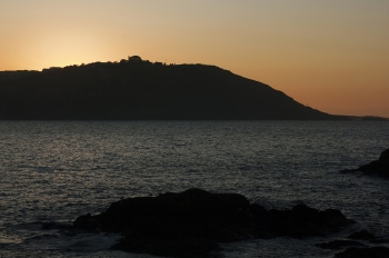 Sunset behind Monte de San Pedro | 2011 | A Coruña, Spain