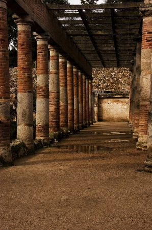 Roman columns | 2011 | Mérida, Spain