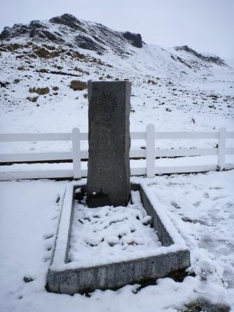 Ernest Shackleton grave - Grytviken - Juan Abal
