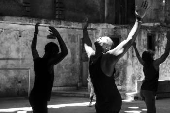 Fine art in black and white in Cuba
