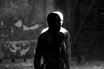 Pure black and white in Cuba