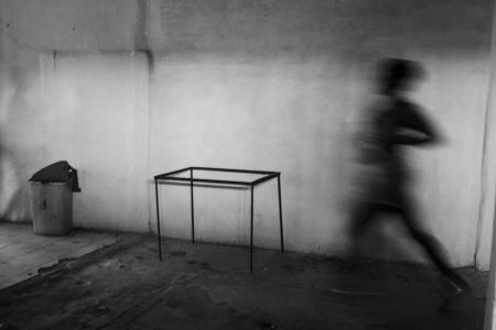 running in cuba, cuban photography fine art by louis alarcon
