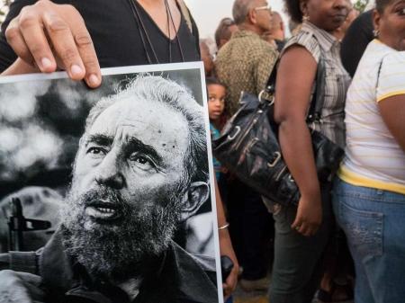 Fidel castro cuban picture in havana