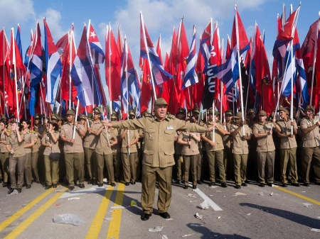 cuban army, photo by louis A.