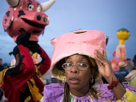 participant of havana´s carnivals, cuban picture by louis alarcon
