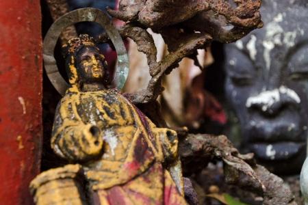 Weird altars in havana, workshops of photography focus on religion in cuba