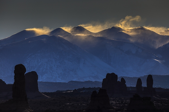 Fran Rubia · ARCHES NAT PARK-USA