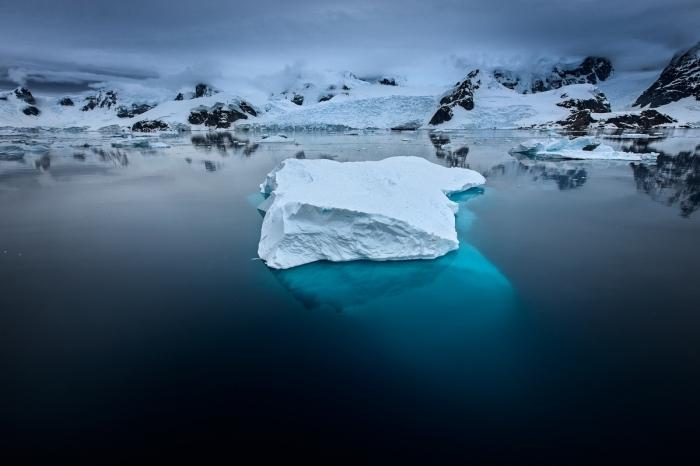 A la deriva. Antártida