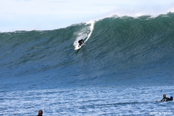 Hawaiano disfrutando en nuestra tierra (Asturies).