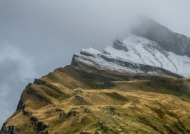 Pico Uccello. Swiss Alps