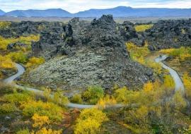 Magmatic trail
