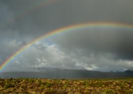 Arco iris, Parque Nacional Tongariro