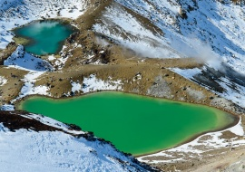 Emerald Lakes, Parque Nacional Tongariro