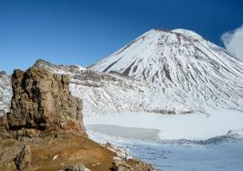 Volcán Ngauruhoe, Parque Nacional Tongariro