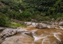Cañón del río Lastres. Vall de Llors